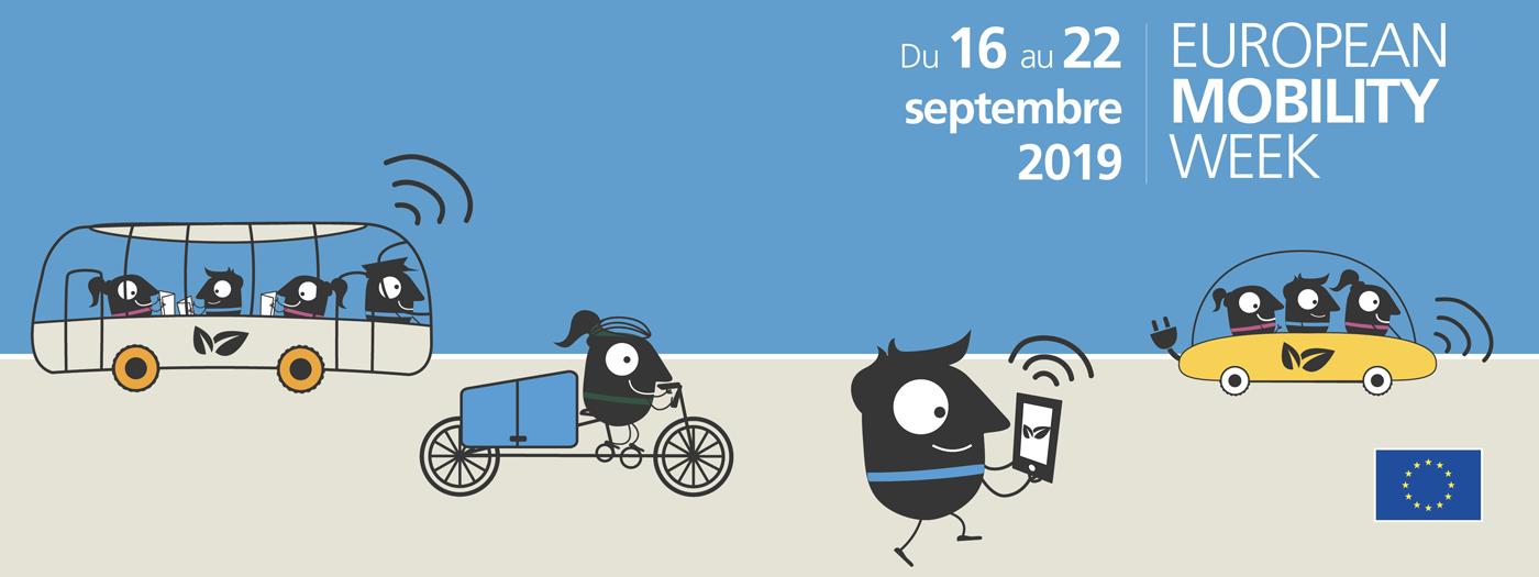 Bandeau d'European Mobility Week