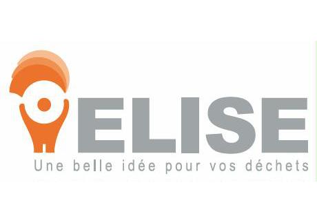 Logo de l'entreprise ELISE, offrir une seconde vie à vos déchets.